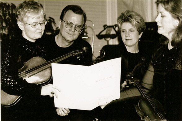 Quartet at work
